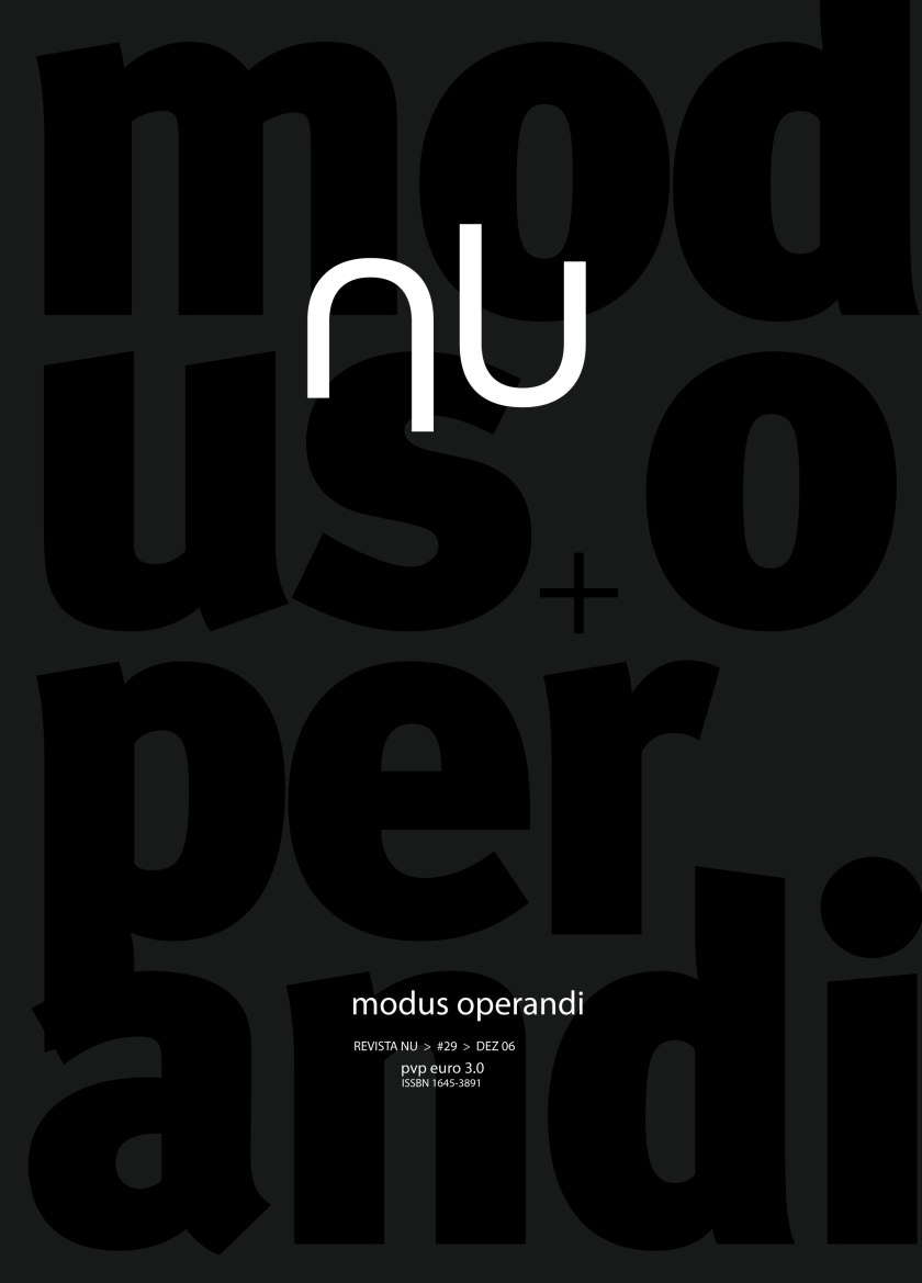 # 29 - MODUS OPERANDI-01